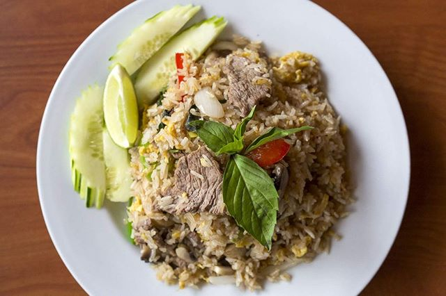 You know you love your fried rice, but have you had it with Basil?  Come try our Basil Fried Rice #32. . . . #instagood #food #sweet #yummy #instapic #yum #delicious #fresh #foodie #hungry #homemade #foodgasm #pdxeats