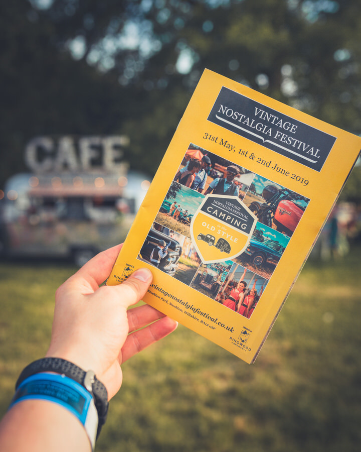 The Vintage Nostalgia Festival 2019 Programme - Lovely seeing so many of my shots on the front cover.