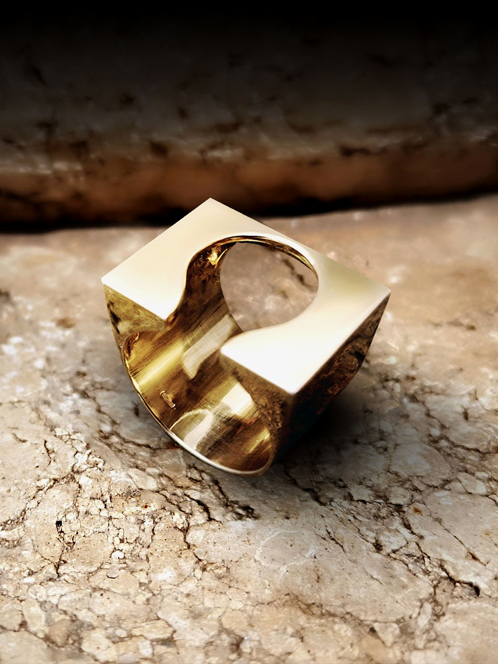 the hathor ring n°0 - ~ limited edition signed 30 copies ~ available in gold 18K / pink gold / white gold