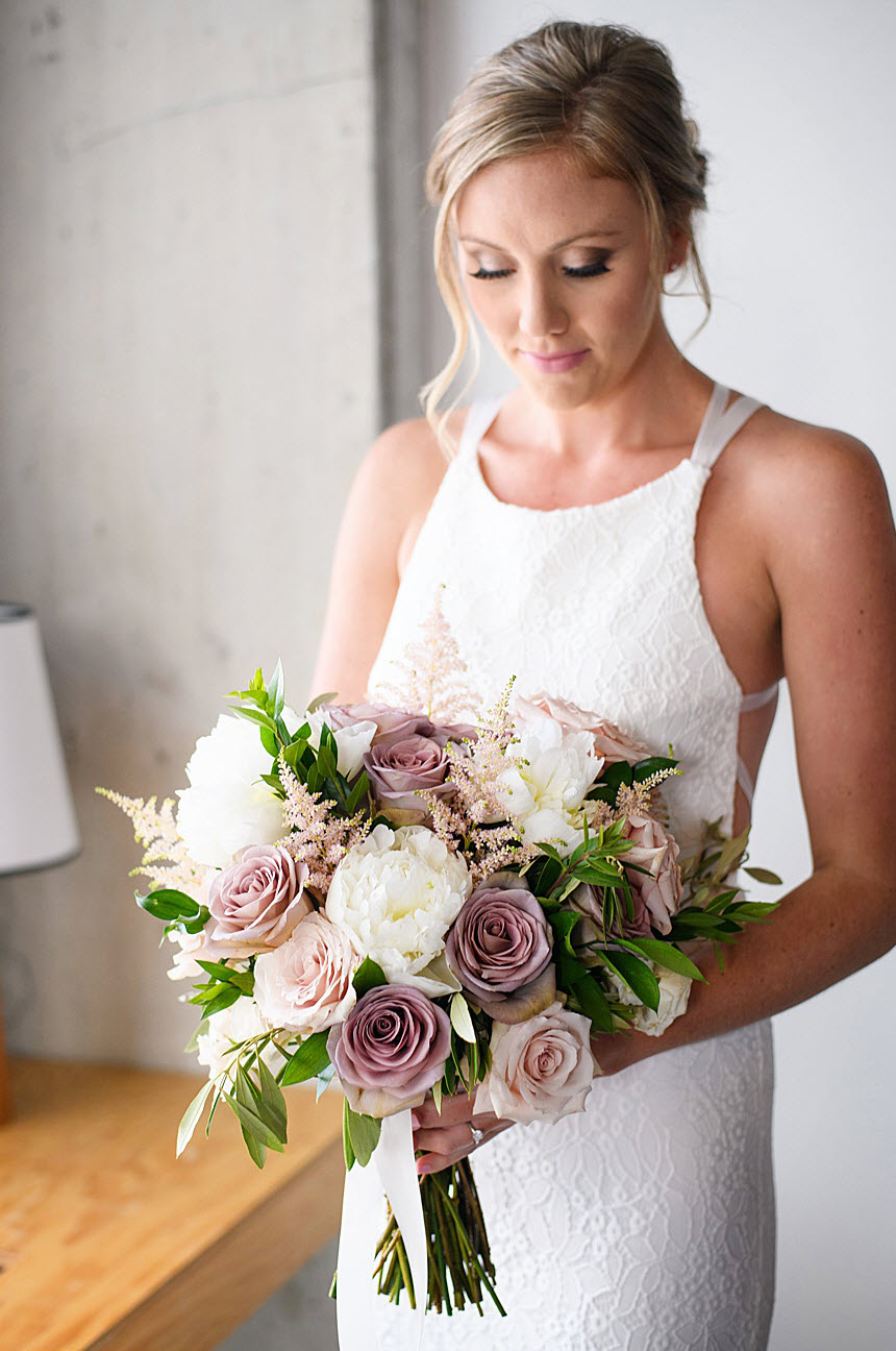 Indigo Floral Co. Bridal Bouquet