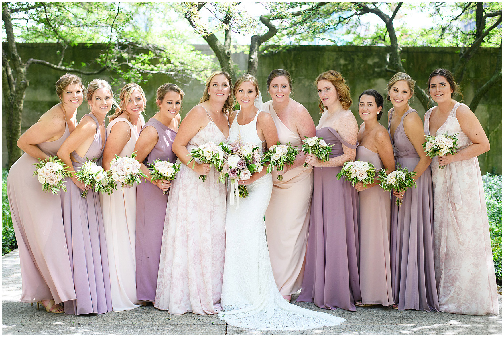 Indigo Floral Co. Bridesmaids