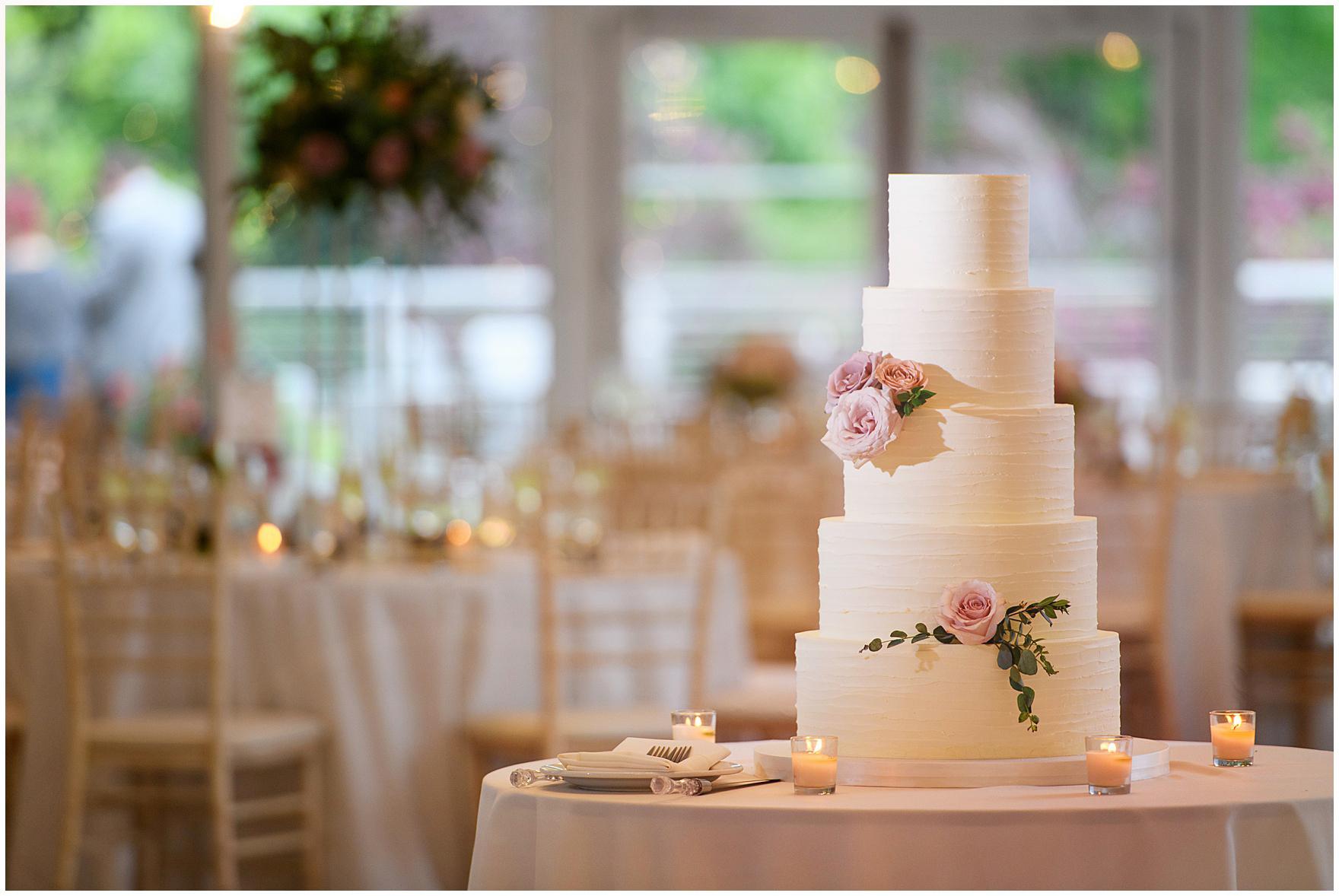 Indigo Floral Co. Cake