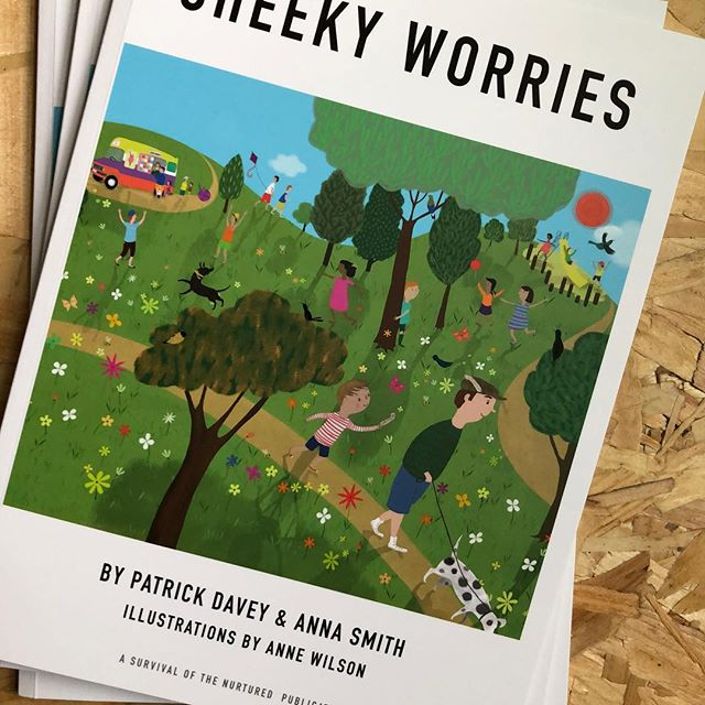 Delighted the books have arrived, looking beautiful. If you'd like to order one please see our shop on www.cheekyworries.com