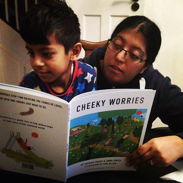 Yash and Neha enjoying cheeky worries. www.cheekyworries.com. Thanks Neha for sending in the photo.