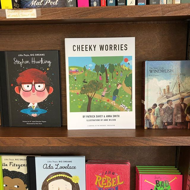 We're in the shops! Thanks to the lovely team @reviewbookshop Peckham.