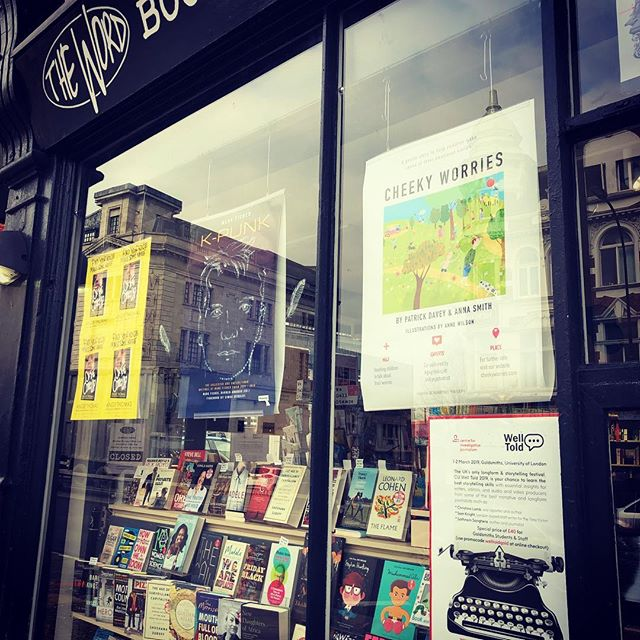 Happy world book day everyone! Thanks to our friends at 'The Word' bookshop in New Cross who are featuring us this week.