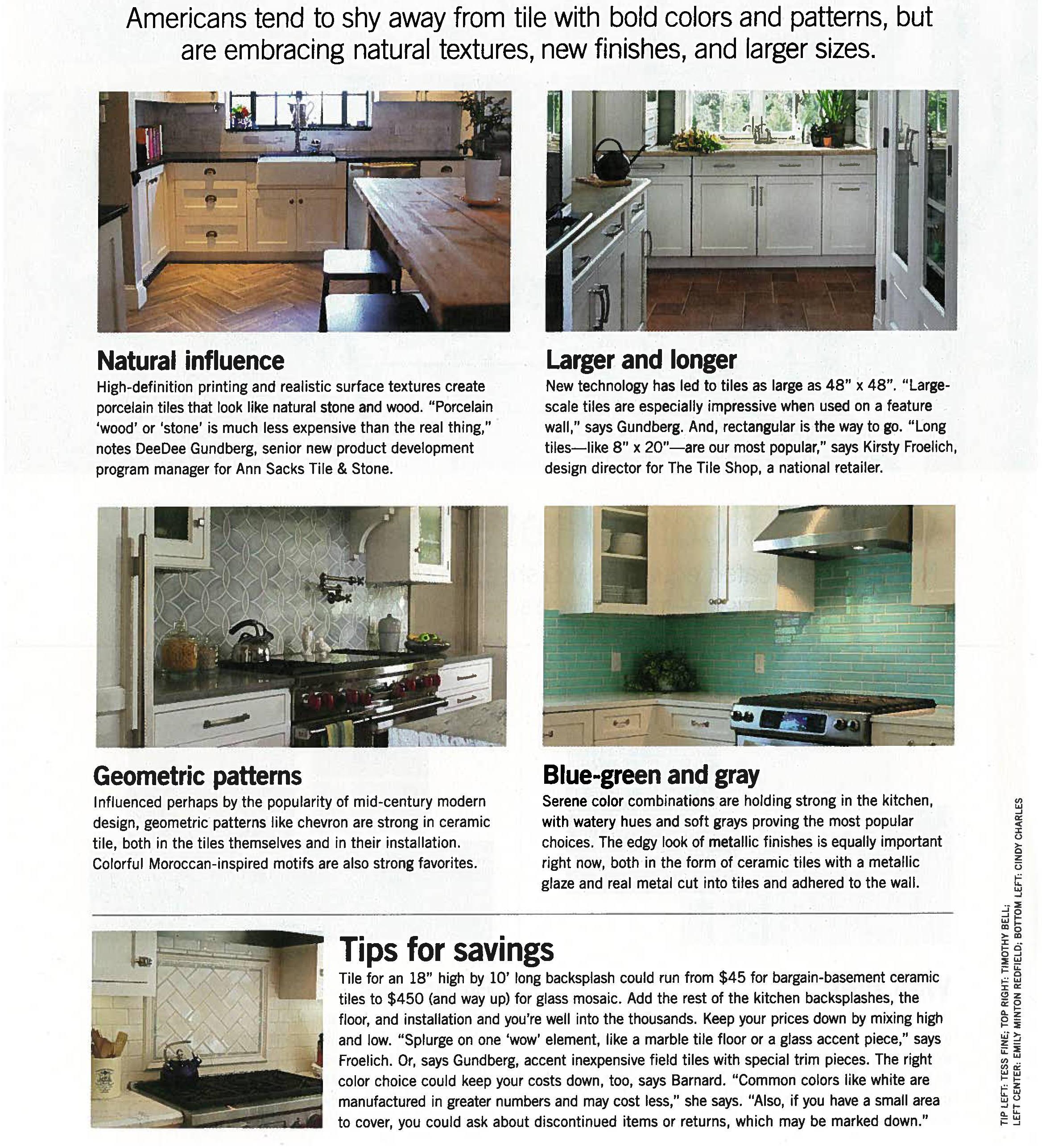 Consumer Reports, What's Hot, September 2014