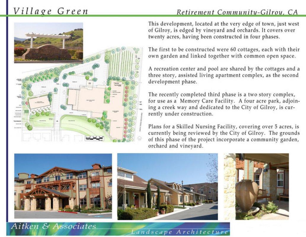Village Green – Retirement Community – Gilroy, CA