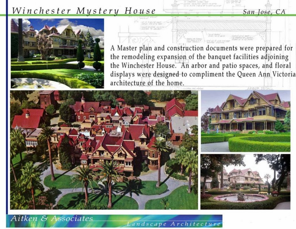 Winchester Mystery House – San Jose, CA