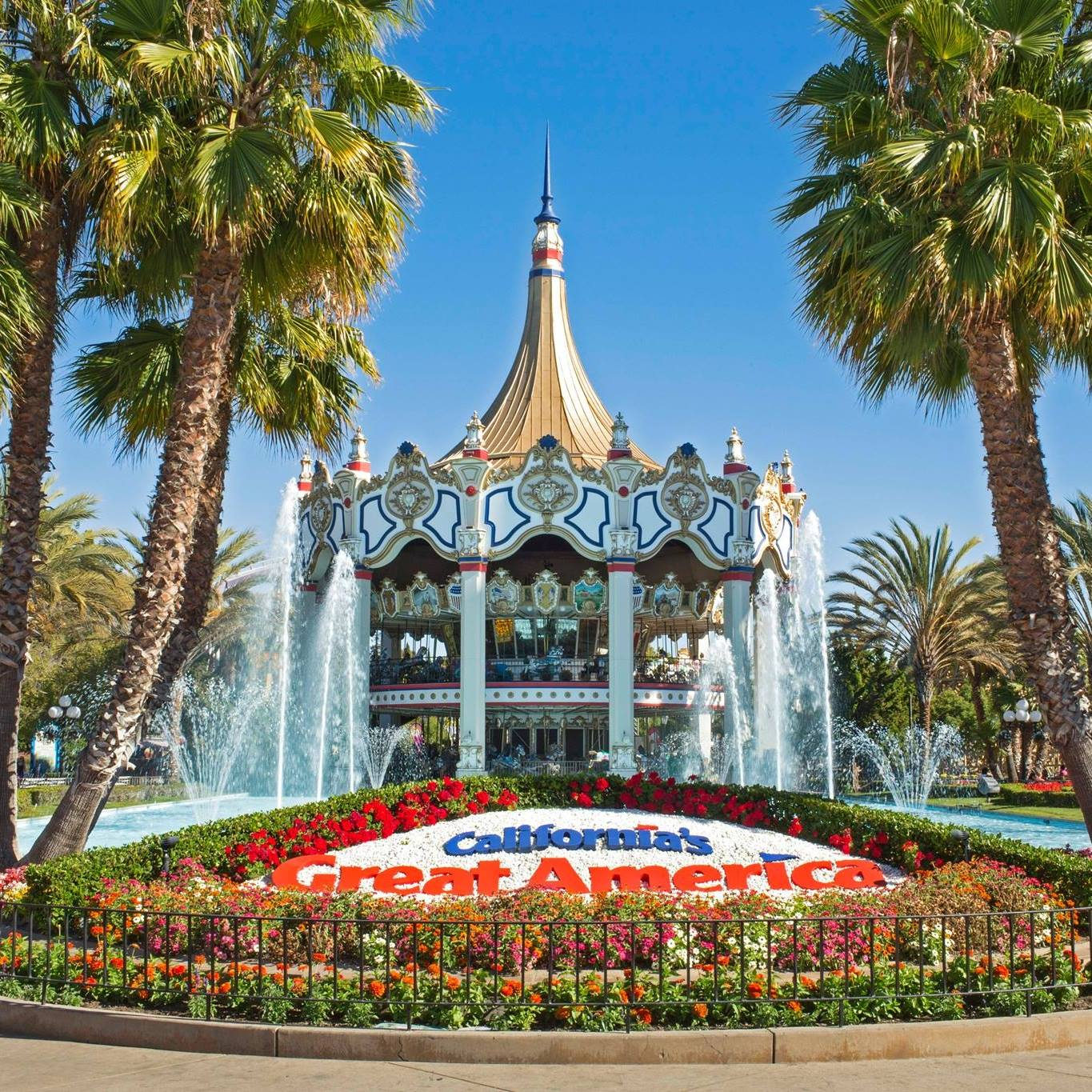 highlights - In addition to California's great america theme park Karen aitken Has designed many epic landscapes including The Gilroy Bonfante Gardens, the santa cruz beach boardwalk and Mission san juan bautista.