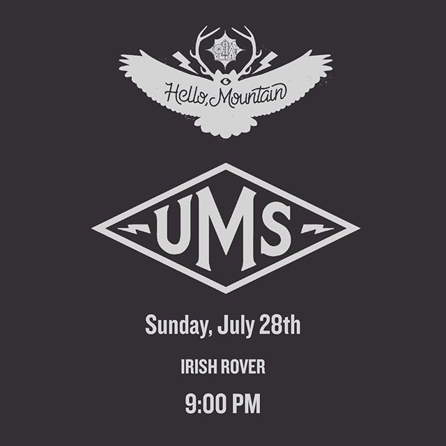 Come down to the @irishroverpub after the main stage festivities Sunday night at 9PM. You're not gonna want to miss our @theums set. @ivorycircle comes on right after. Should be a rad way to close out an awesome weekend. . . . . #denver #denvermusic #coloradomusic #denvermusicscene #hellomountain #indierock #livemusic #rock #alternativerock #independentartist #indiemusic #denver #colorado #coloradoband #music #artist #singersofinstagram #rockmusic #music #ums #undergroundmusic #undergroundmusicshowcase #ums2019 #tuxedo #ivorycirclemusic #weekend #sundayscaries #musicfestival