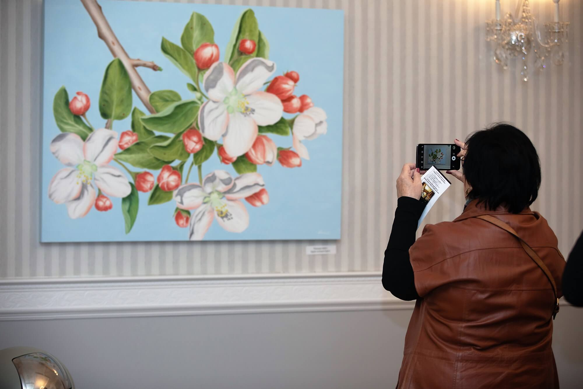 "Solo Exhibition ""20 Years of Love for Estonia"" (2018)"