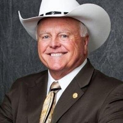 Sid Miller, Photo from Twittercar