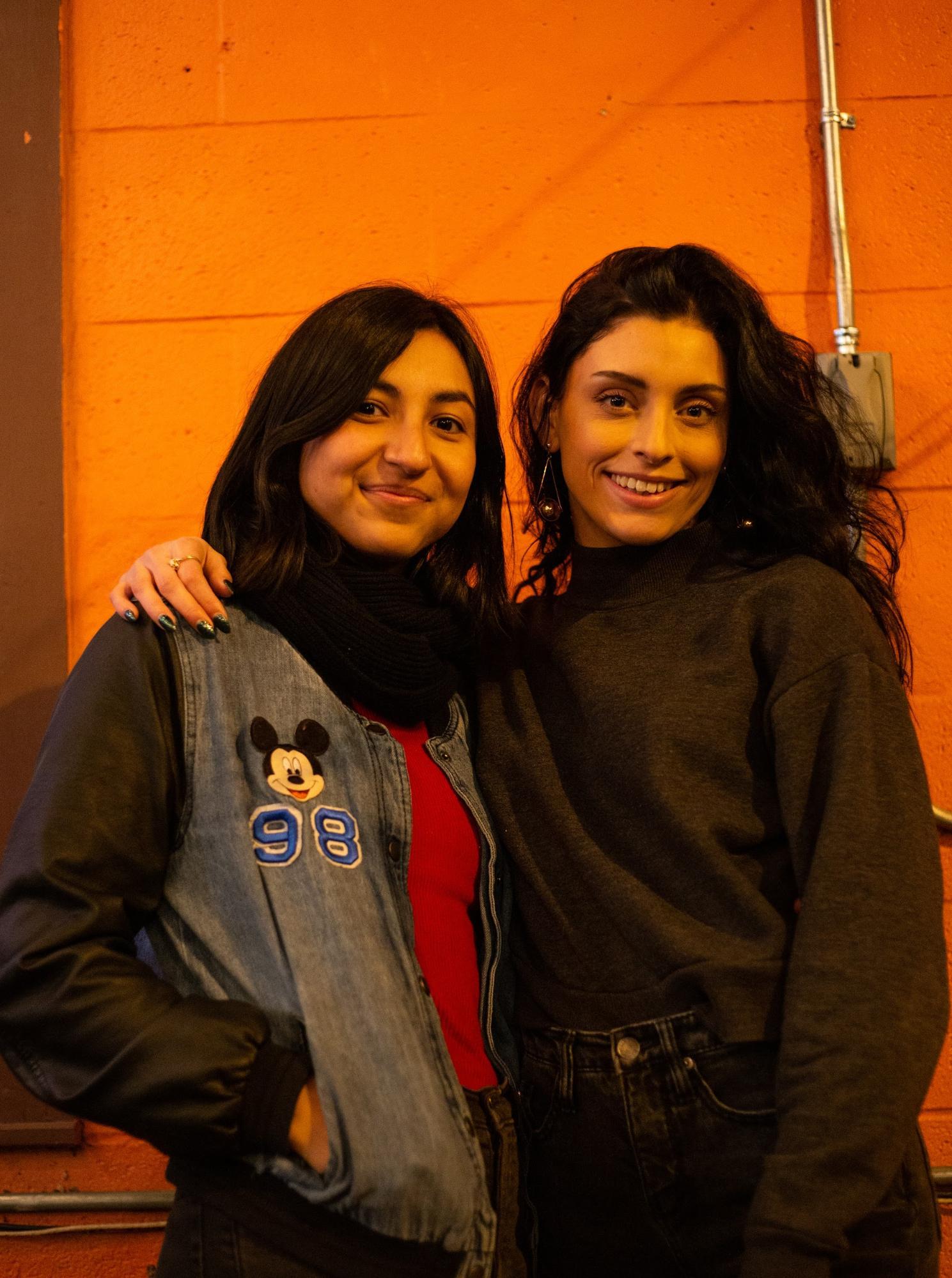 Left: Karla Bruciaga, Right: Judith Carroll