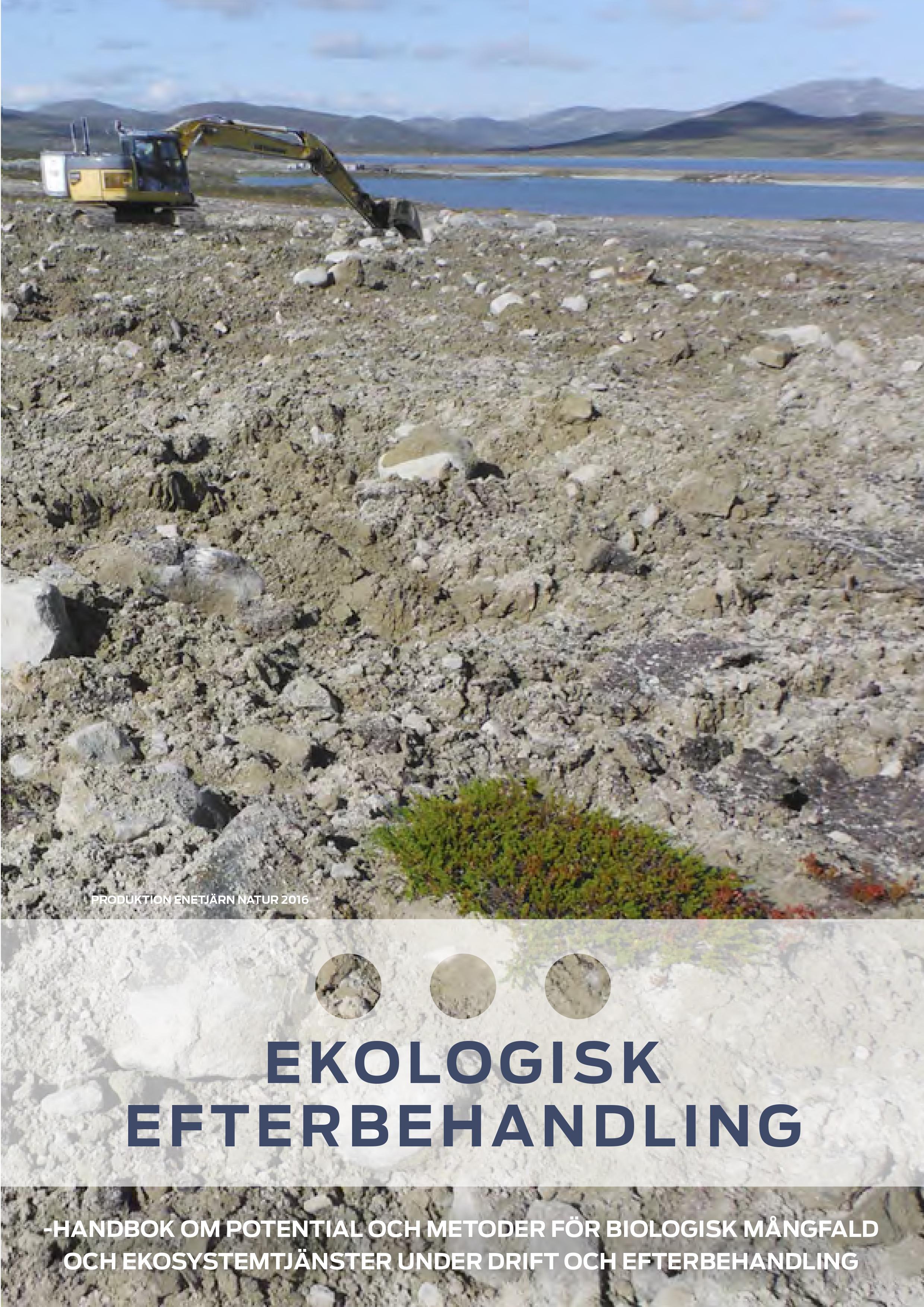 Handbok om ekologisk efterbehandling