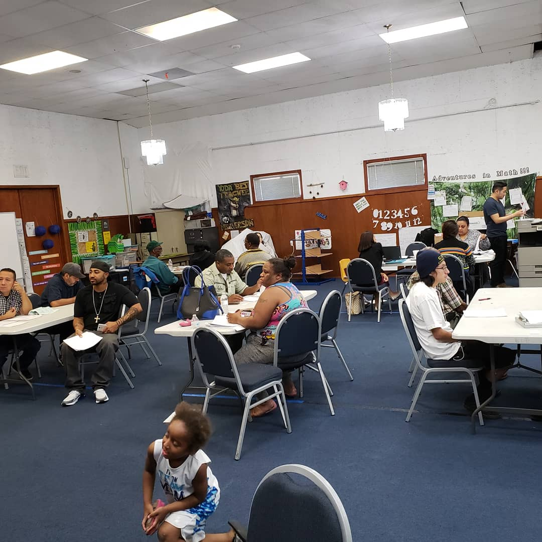 City Residents, Volunteers and Support staff during Expungement Event hosted by FIMBC