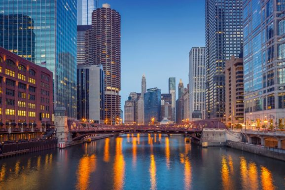 Chicago's tech sector is growing rapidly. Image Credit: Shutterstock
