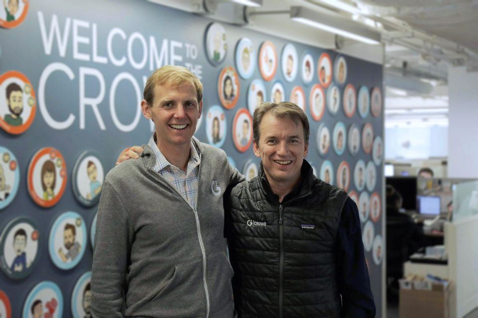 G2 Crowd's co-founders previously started and scaled companies together. PC: G2