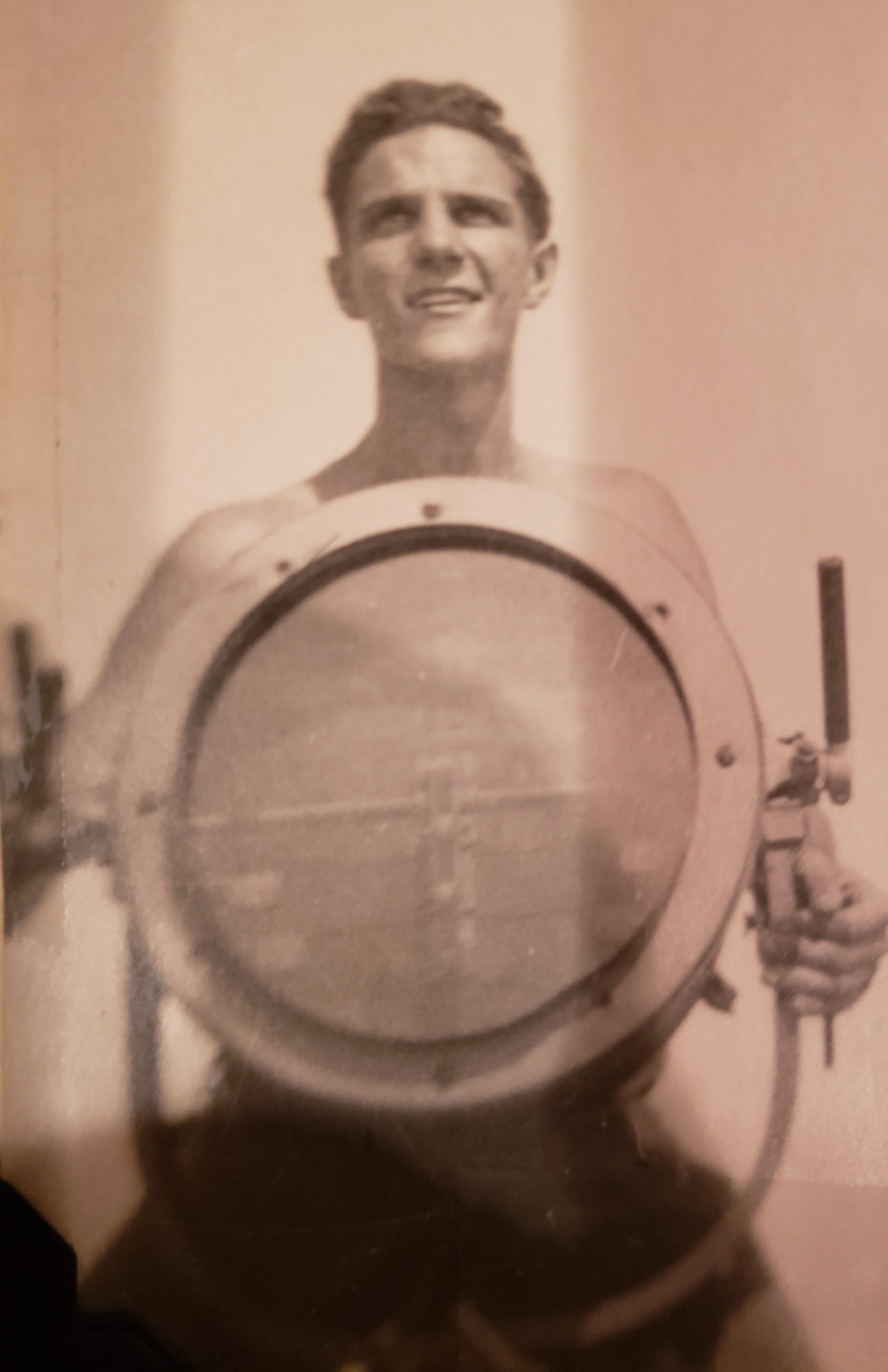 "Eugene ""Bud"" Wilkins, World War II"
