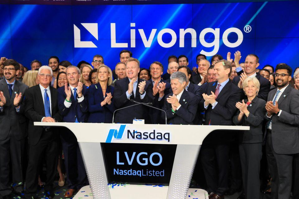 On its opening day, Livongo stock increased 36%, valuing the company at $3.4 billion after its first day of trading   LIVONGO
