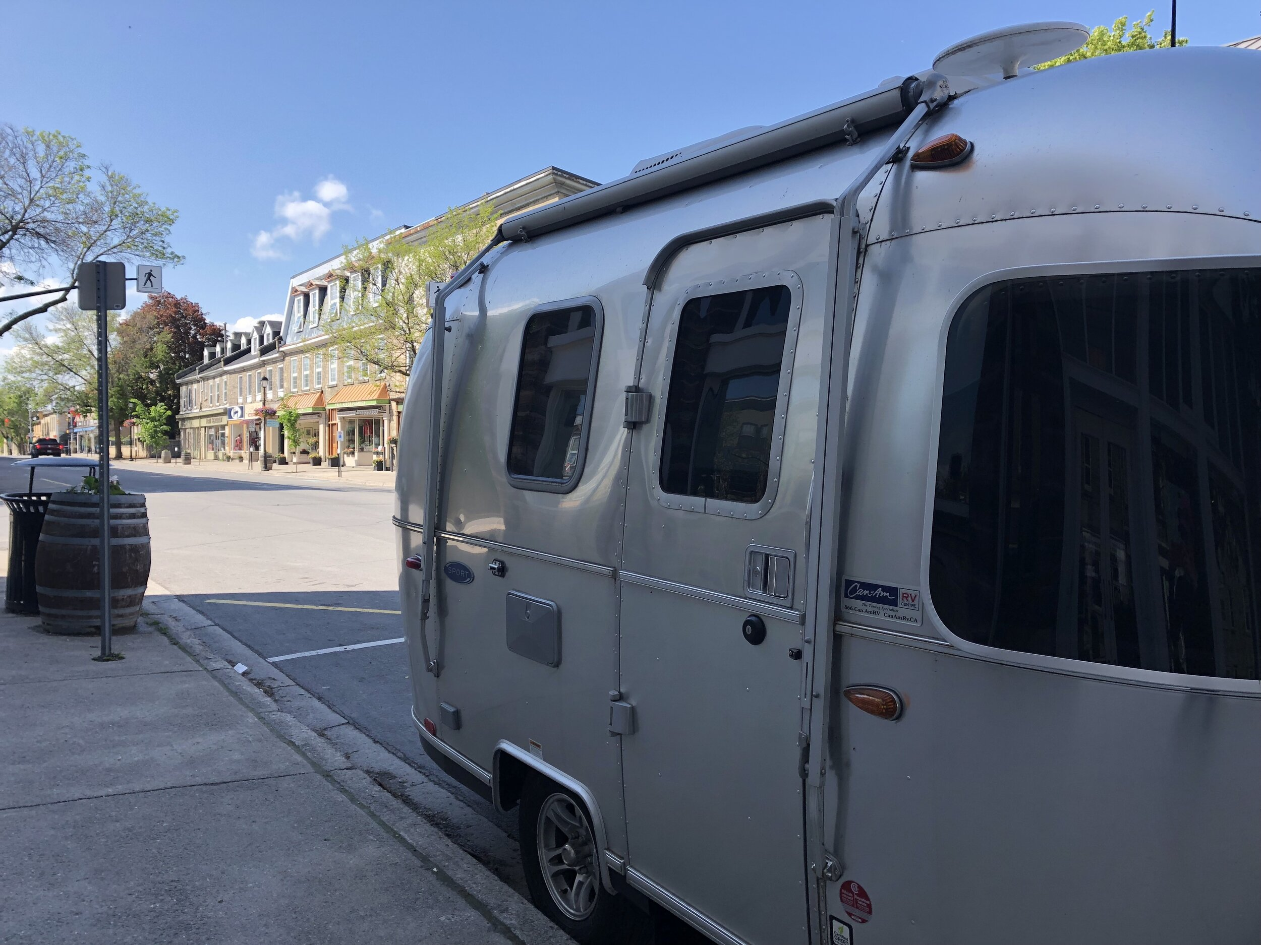 Parked on Perth's Gore Street!