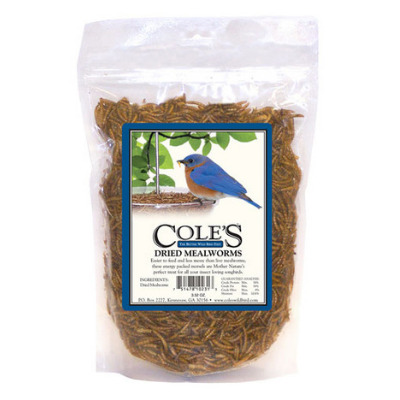 Cole's Dried Mealworms