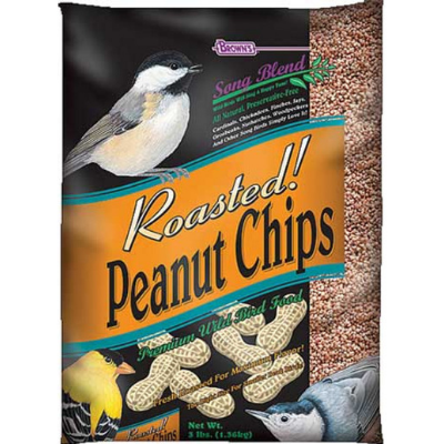 Brown's Roasted Peanut Chips