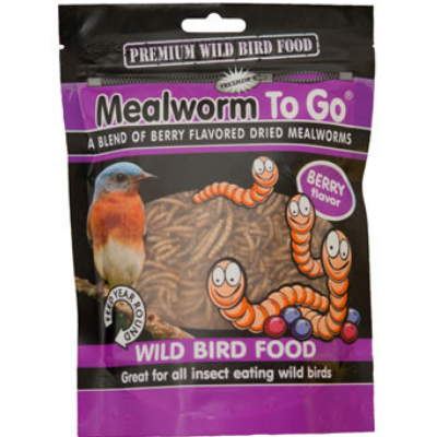Mealworms To Go Berry Flavored Meal Worms