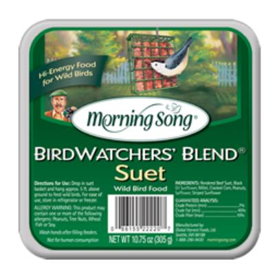 Morning Song Bird Watcher's Blend Suet