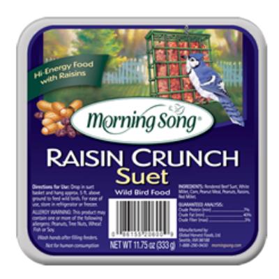 Morning Song Raisin Crunch Suet