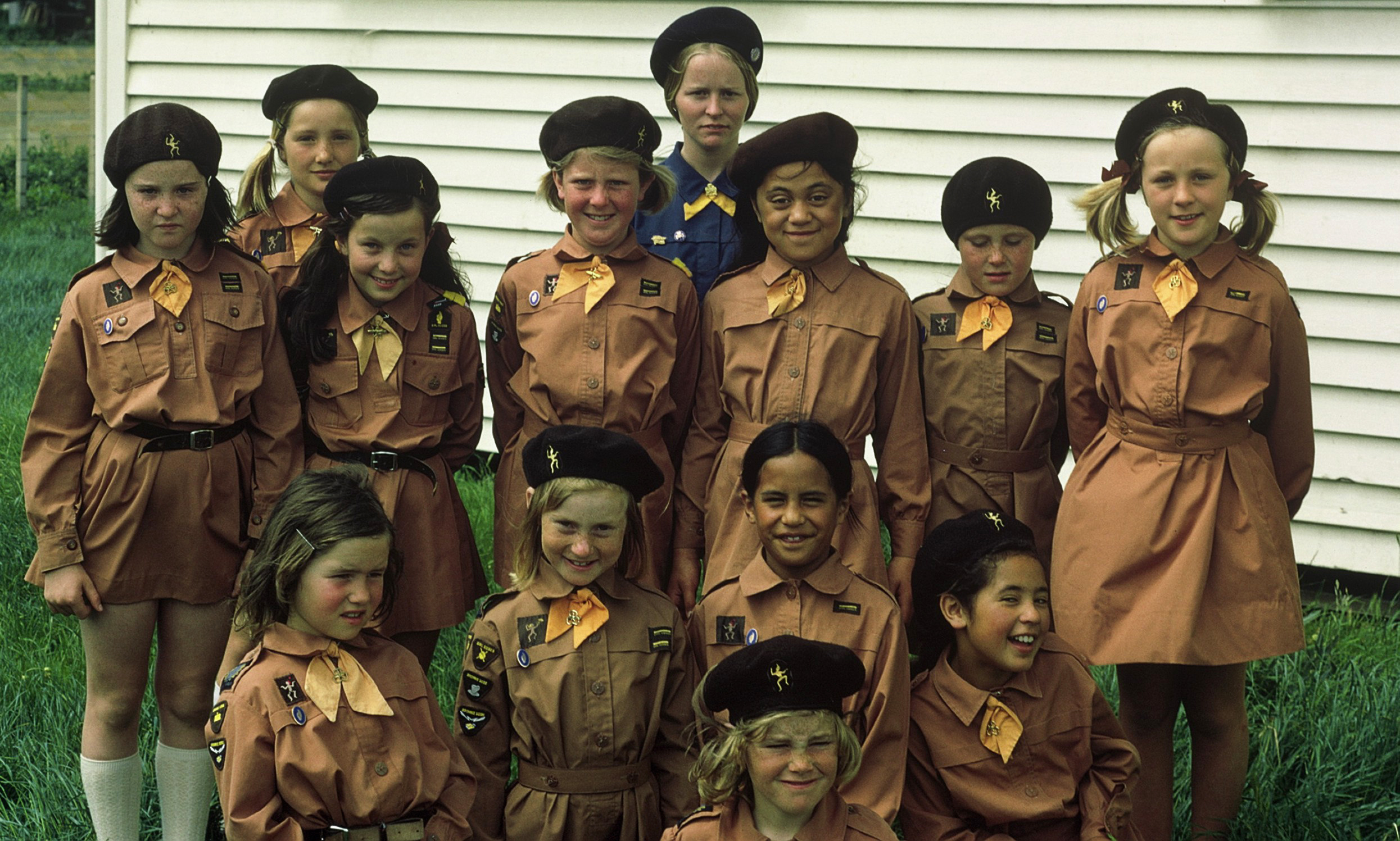 """""""Be prepared"""" - My old Brownie pack, in the early 1970s. Can you spot me?"""