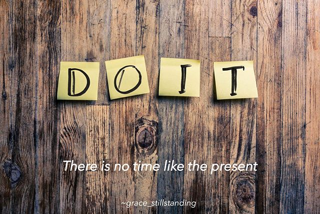 ". Do it! . ""No time like the present, a thousand unforeseen circumstances may interrupt you at a future time"" ~john trusler. . What are you waiting on? . What are you waiting for? . If your heart calls you to do something, do it! . If you are called to. 🚀 open your heart, do it. 🚀 change jobs, do it. 🚀 move across the country, do it. 🚀 spend more time with those you love, do it. 🚀 take that trip by yourself, do it. 🚀 face your fears, do it. 🚀 make a decision, do it. 🚀 say the words, do it. . Lean in dear one, just do it!  Take a deep breath, swallow the lump in your throat. Stand up tall, lead with your intention and remember who you are. You deserve all the goodness in your own heart. You deserve all the love others give you. . Doubt kills more dreams than failure ever will. . I believe in you! . Do it! . #doit #sayyestoyourlife #dontwait #loveyourself #believeinyourself #decisions #lead #nofear. . #coach. #igotyou. . #justasimplegirlinanotsosimpleworld #inspiration #motivationalquotes #poetry #spirituality #spiritualawakening"