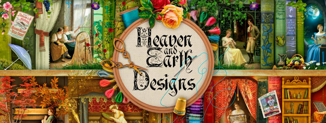 "Heaven and Earth Designs  Many of Meredith's paintings are available as cross stitch patterns from Heaven and Earth Designs: •  Full size patterns  •  Mini ""Quick Stitch"" patterns"