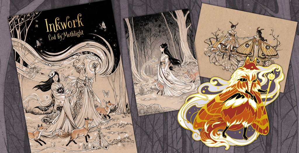 Inkwork kickstarter has been funded! Pre-orders are available now
