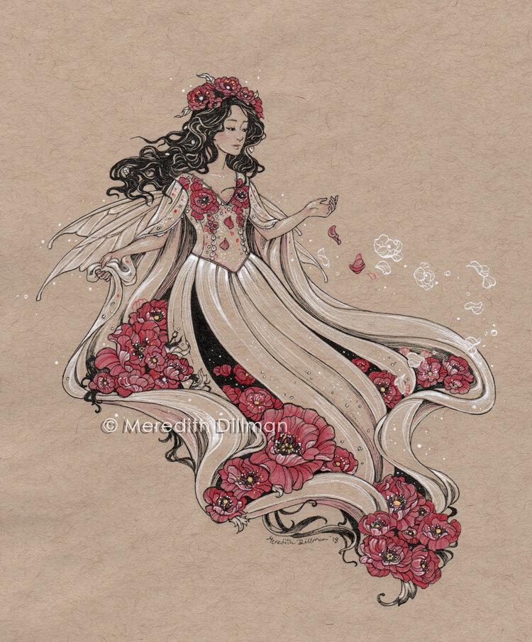 Dress of Poppies