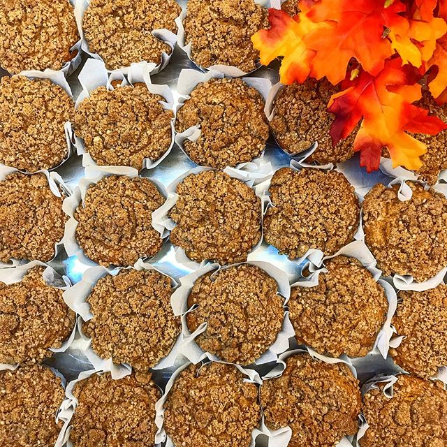 What is your favorite thing about fall? For us, these Pumpkin Streusel Muffins are definitely high on the list. Grab a fresh baked pastry this weekend, and pair it with a seasonal latté @therefinerynewburgh + @rivercityevansville !