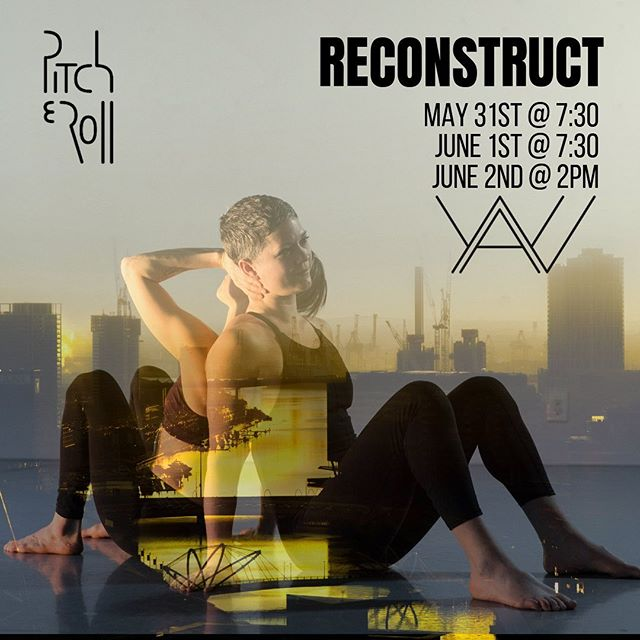"""Only 2 days away! Get your tickets now!  RECONSTRUCT is the first enterprise of Pitch+Roll Productions, dedicated to building community and audience in the dance and art scene in Seattle. In this first installment, Jaime Waliczek of Jerboa Dance and Stella Kutz of Yaw Theater team up to create Notions//Forms, joined by Beth Terwilliger's The Gray, building on the theme of reconstruction. Notions//Forms dives into situations that can overwhelm us, and reduce us to splinters and rubble. Often times, this is a necessary tribulation, just the beginning of us coming through to be better, more actualized humans. """"The wound is the place where the light enters you""""-Rumi. The Muse(s) is an exploration, celebration, and re:construction of five characters and their stories from the world of ballet. After becoming inspired, angered, or ultimately disenchanted by female characters and female roles, The Muse(s) is a cathartic process of reimagining, celebrating, and reconnecting to these women whose stories are so publicly told. This work is just the beginning of an exploration into empowerment and a re:construction that will allow for us to heal from the past. Showtimes are May 31st and June1st at 7:30pm, and a 2pm matinee on June 2nd at Yaw Theater in the Georgetown neighborhood of Seattle. Tickets are available at brownpapertickets.com. Presale is $18, $25 at the door, and to make art more accessible to the community, the Sunday matinee is pay-what-you-can."""