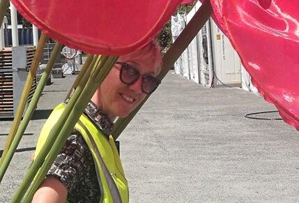 Roz Wren - Festival Designer (Lawns)