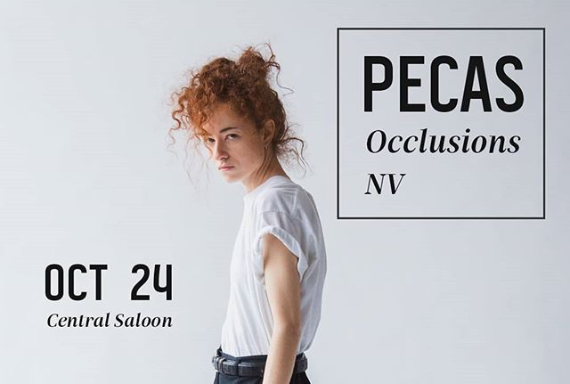 Hi babes. We're back and opening for @pecasmusic. Don't miss it.