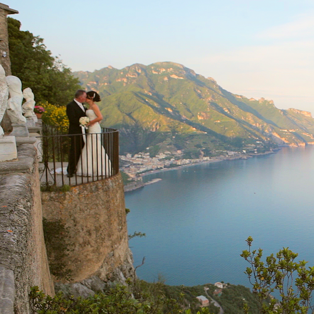 Antony + Sharon, Positano and Ravello Amalfi Coast -  Italy