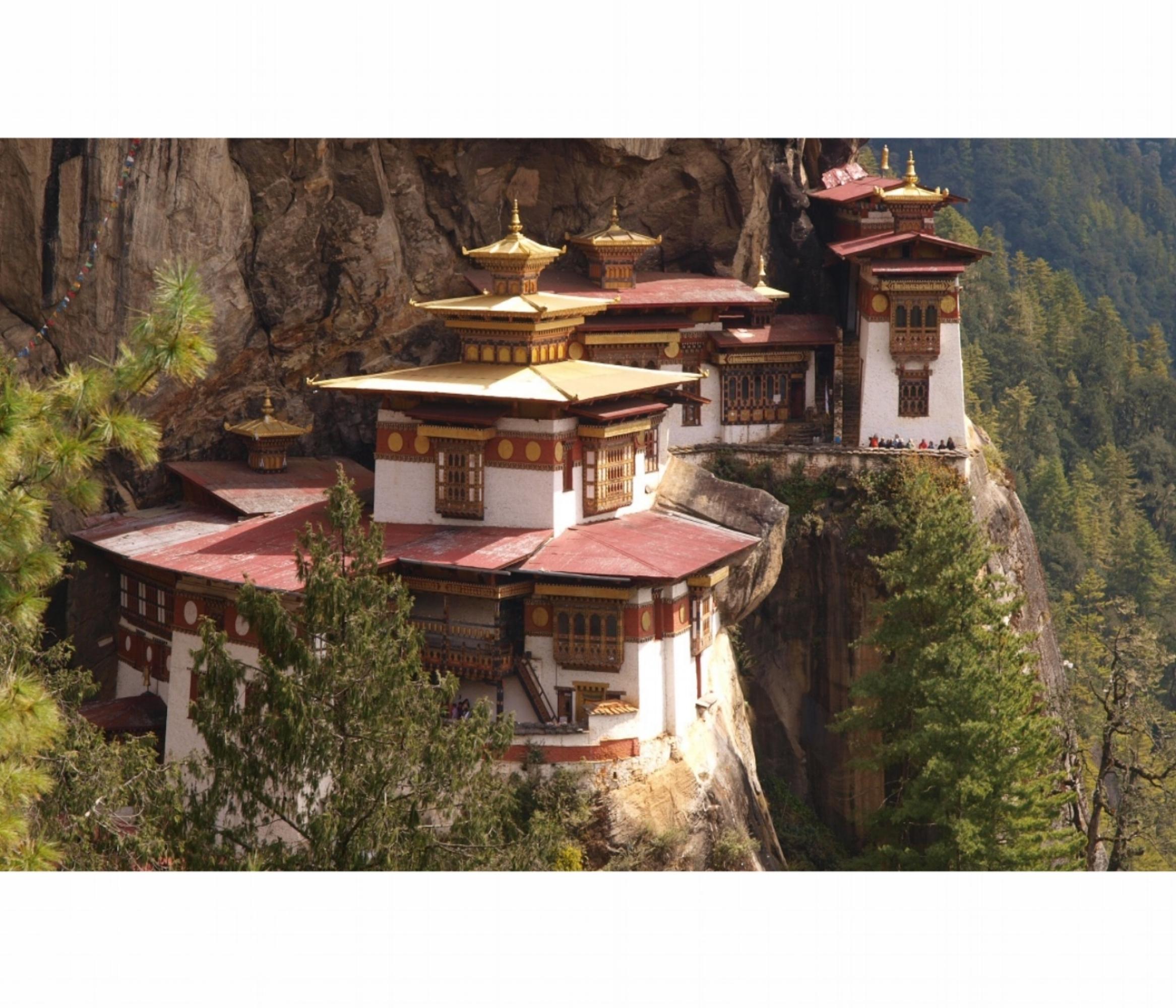 Taktsang Palphug Monastery (Tiger's Nest) Paro Valley, Bhutan