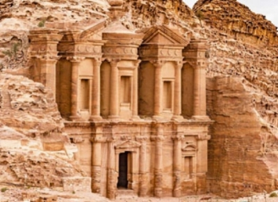 Library, Petra, Jordan