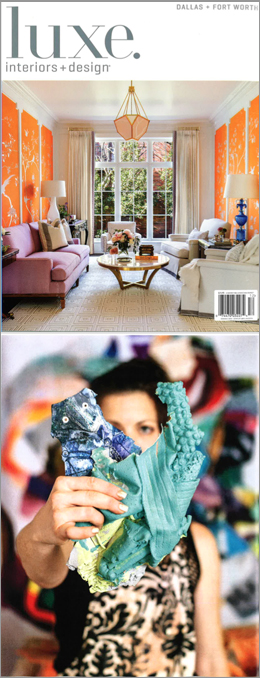 Luxe. Interiors + Design , Nov/Dec 2018   Article by Monique McIntosh and photography by Teresa Rafidi