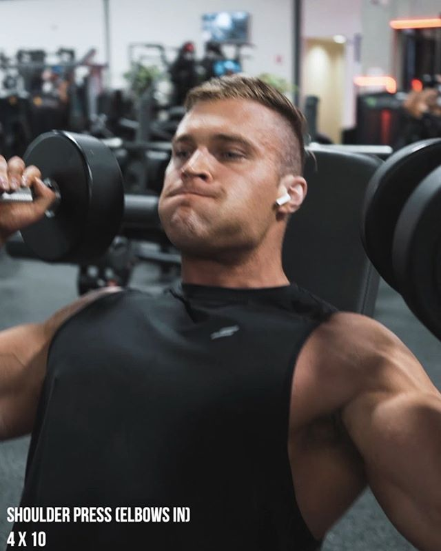 Here's a few of my favourite shoulder exercises 🔥⚡️Give these a try ASAP if you fancy BIG boulders and an insane pump 🤙🏽 ———— ⠀⠀⠀ Full workout details below ⚡️ ⠀⠀⠀⠀⠀ 1. Bench Lateral to Front Raise Combo - 4 x 10 ⠀⠀⠀⠀⠀ 2. SUPERSET: ⠀⠀⠀⠀⠀A. Upper Body Pull - 4 x 15 ⠀⠀⠀⠀⠀+ ⠀⠀⠀⠀⠀B. Seated Lateral Raise - 4 x 12 ⠀⠀⠀⠀⠀ 3. SUPERSET: ⠀⠀⠀⠀⠀A. Shoulder Press - 4 x 12 (elbows in) ⠀⠀⠀⠀⠀+ ⠀⠀⠀⠀⠀B. Bent Over DB Raise - 4 x 10 ⠀⠀⠀⠀⠀ Don't forget to HIT SAVE so you can do it when you're next hitting shoulders! 🙌🏽 ———— Let me help you build your dream shape! Next transformation challenge begins 10th June. Apply using link in bio: @leanbodiesbyjay .