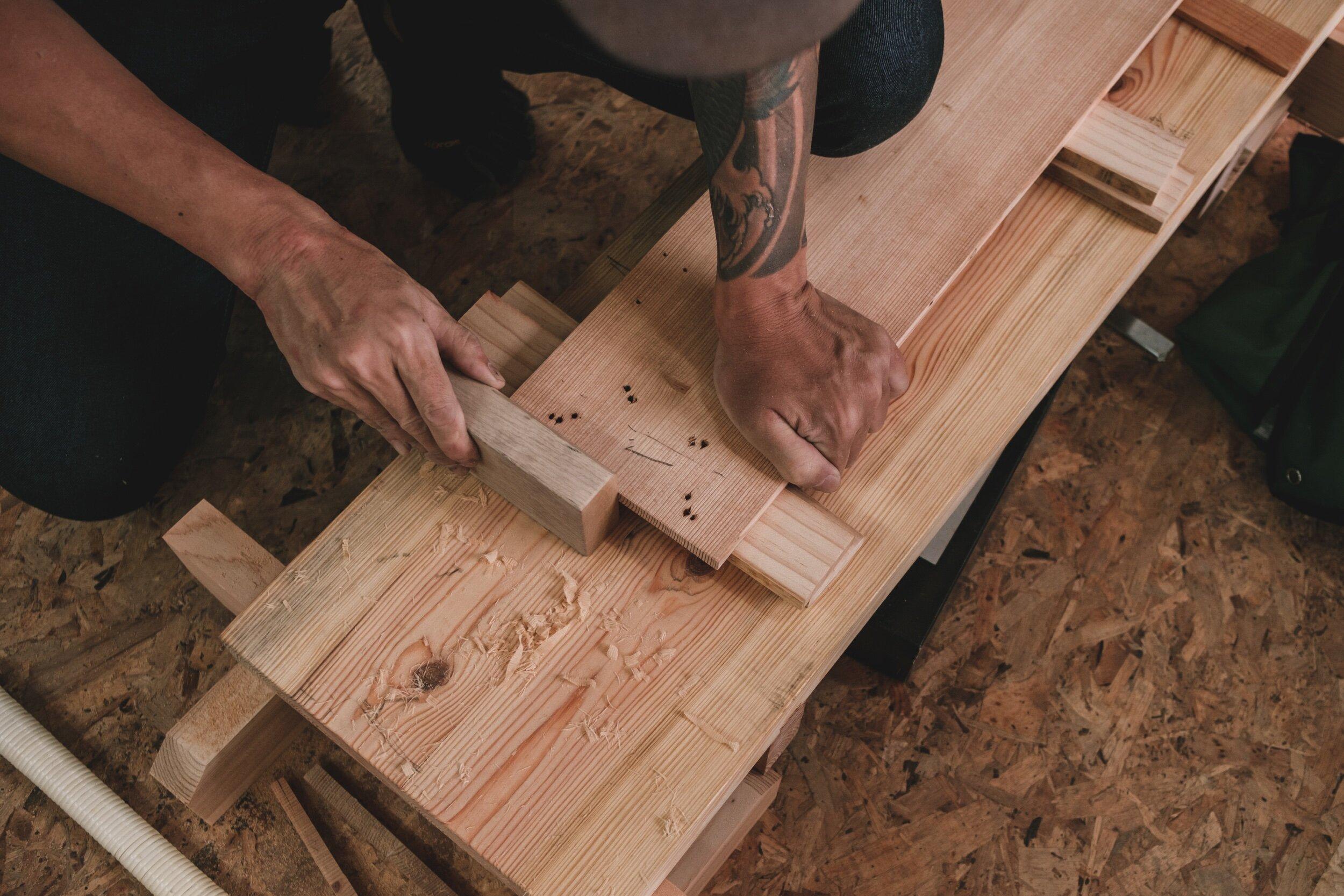 Woodcraft Course Beginner Shokunin Mokko Wood Studio