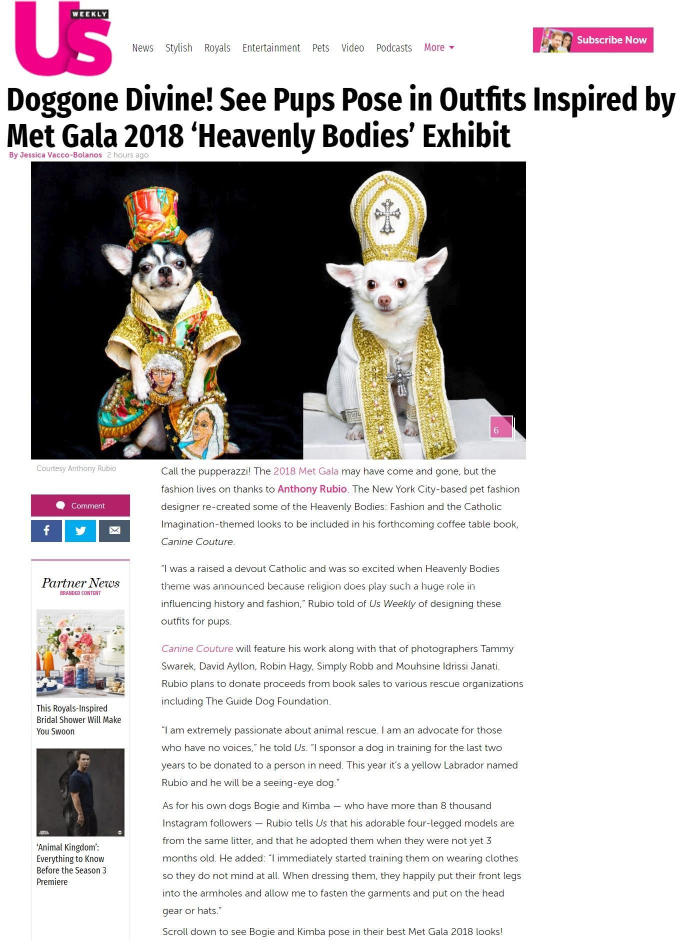 Anthony Rubio, Met Gala 2018, Heavenly Bodies, Dog Fashion,  5501 new 100.jpg