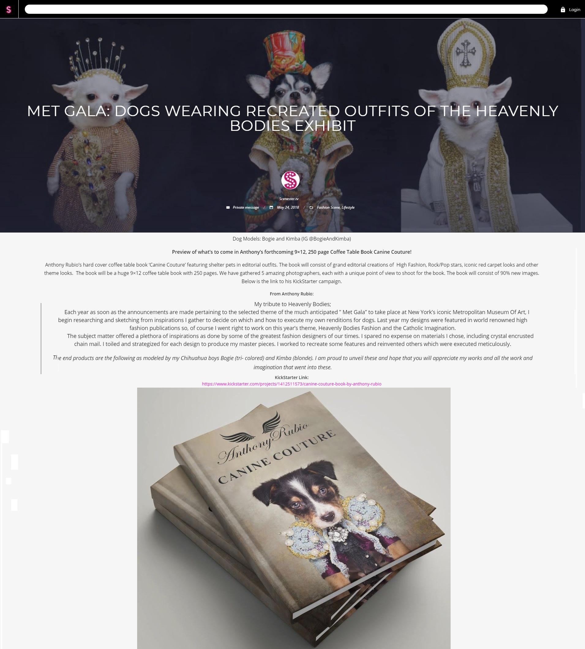 Anthony Rubio, Met Gala 2018, Heavenly Bodies, Dog Fashion,  558801 new 100.jpg