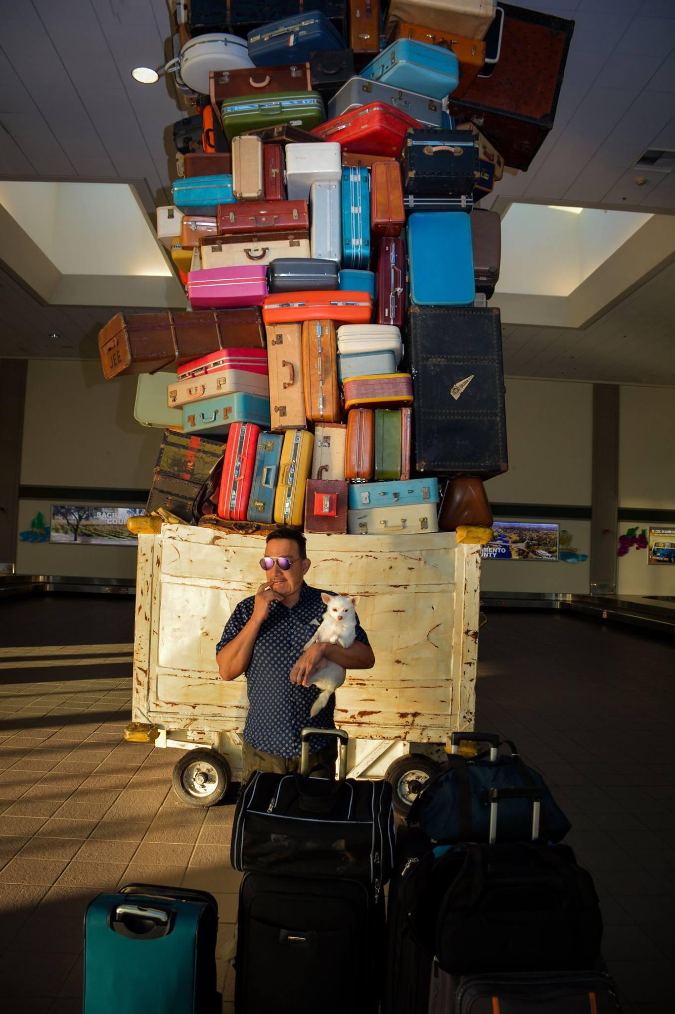 Anthony Rubio arrives in Sacramento