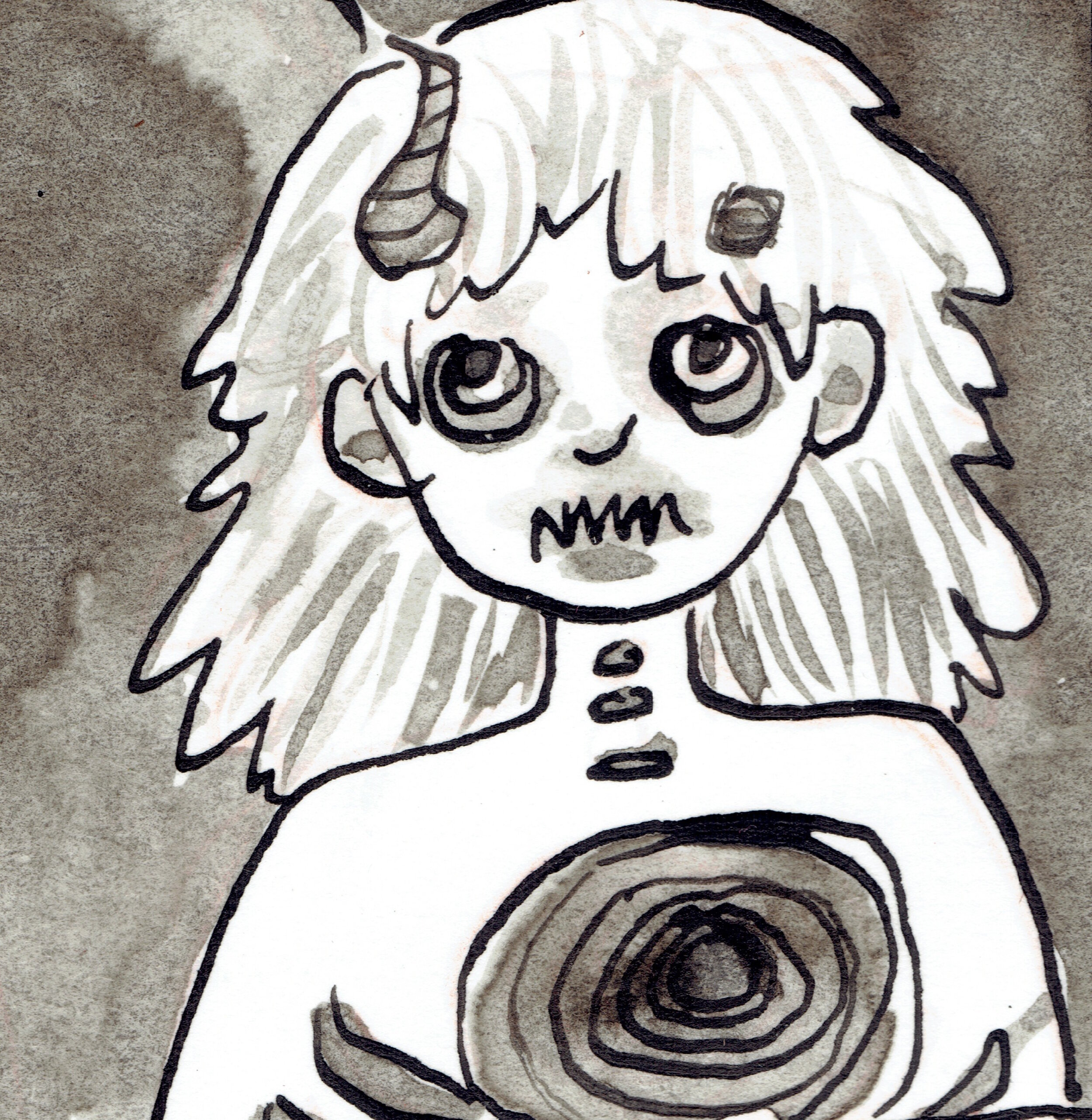 KATHLEEN BERGEN - Contributed 6-page comic to Depression anthology