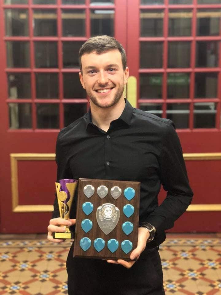Stuart Paterson, Senior 1 Male Winner & Male Athlete of the Year